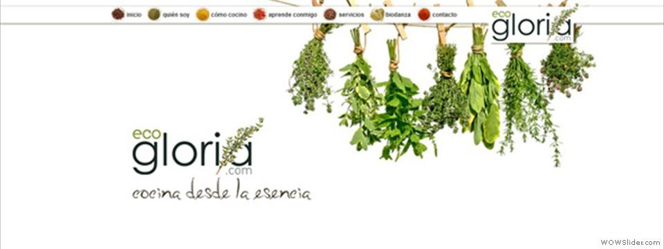 Ecogloria, cocina desde la esencia