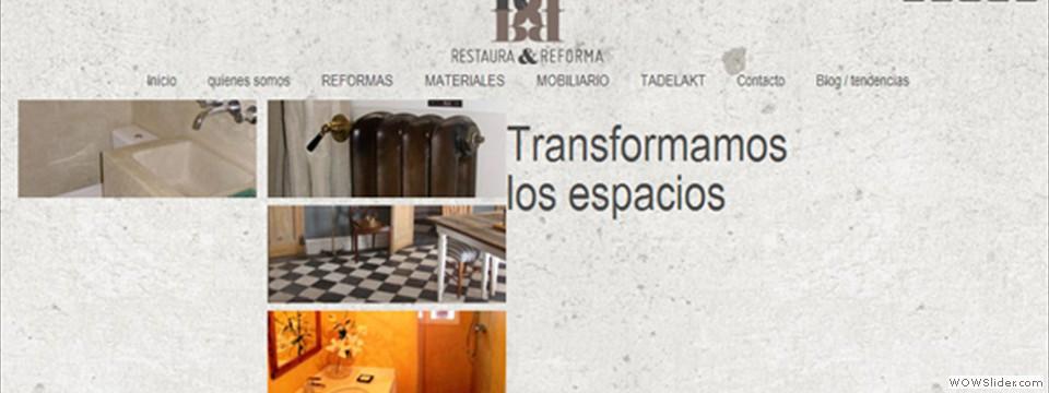 Restaura y Reforma